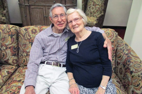 Sam & Deane Adkins at Willow Creek Gracious Retirement Living in Chesapeake, Virginia