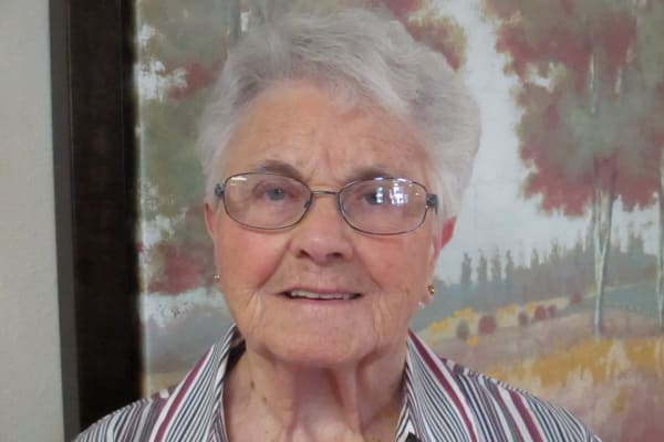 Priscilla Benoit at Winterberry Heights Assisted Living in Bangor, Maine