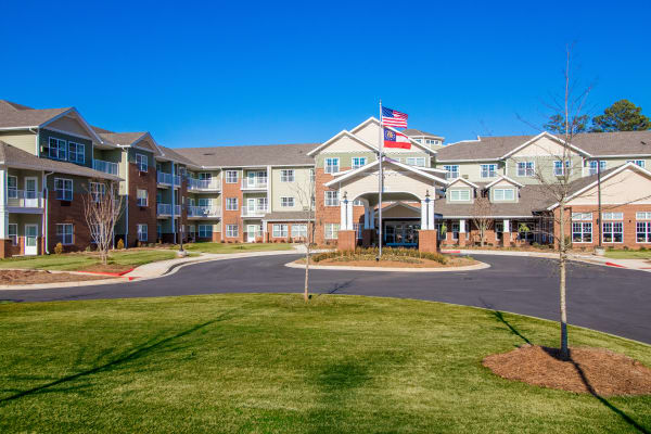 Photo of building at Linwood Estates Gracious Retirement Living in Lawrenceville, Georgia