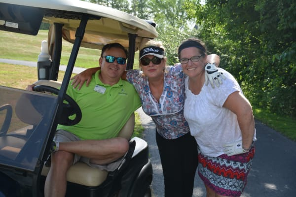 Generous participants at Golf / Spa Invitational