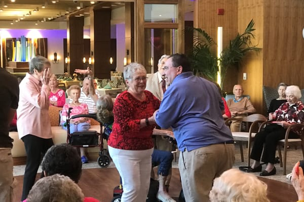At All Seasons Naples in Naples, Florida residents like to have fun