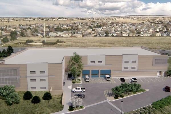 Ample parking at Security Self Storage in Colorado Springs, Colorado