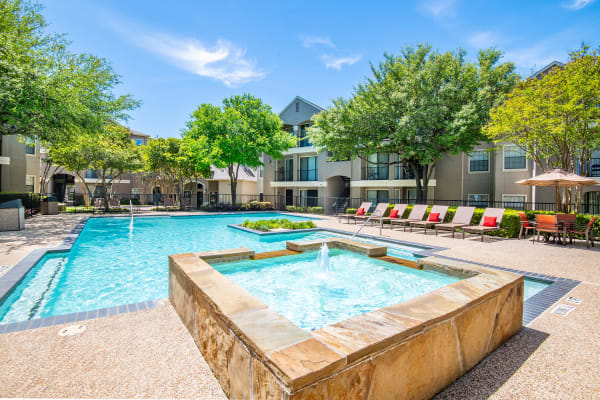 Swimming pool at Briargrove at Vail in Dallas, Texas