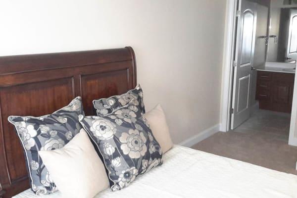 Bedroom at Grassfields Commons in Dracut, Massachusetts