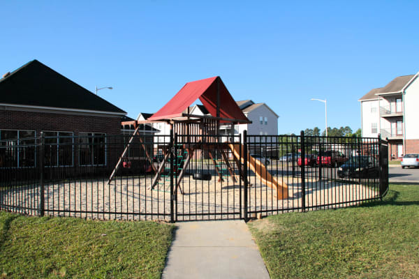 Play area at Brookstone Apartments in Fayetteville, North Carolina