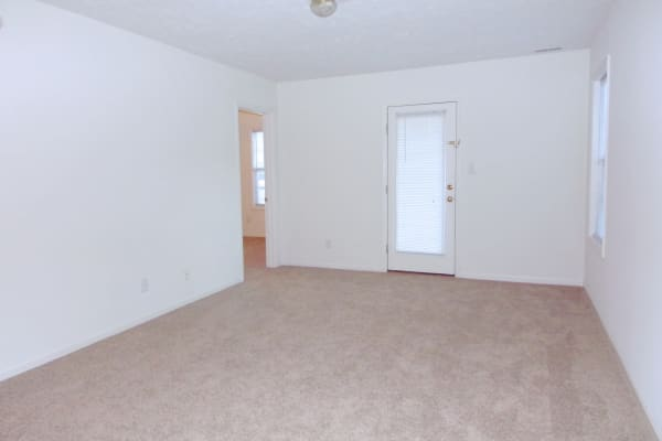 Large bedroom at Brookstone Apartments in Fayetteville, North Carolina