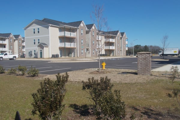 Beautiful new building at Wedgefield Apartments in Raeford, North Carolina