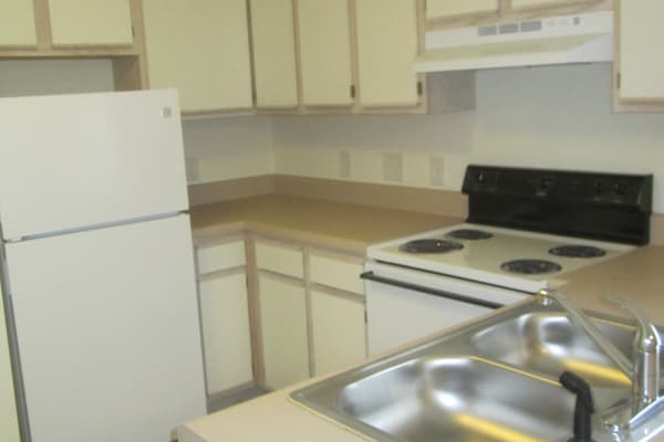 Kitchen at Wedgefield Apartments in Raeford, North Carolina