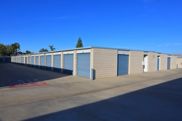 Self storage units for rent at Storage Solutions in Riverside, California