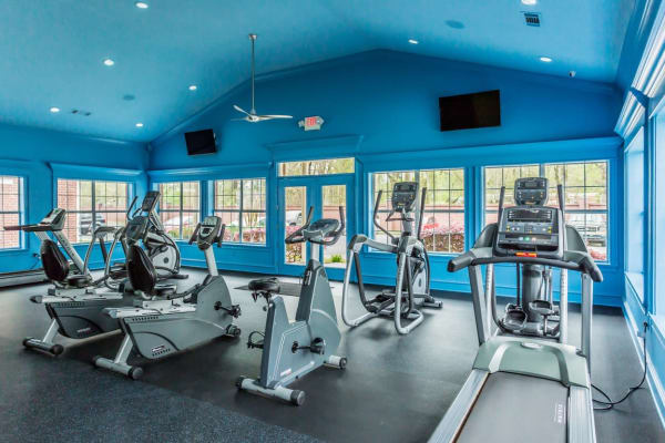 Cardio machines at River Pointe in North Little Rock, Arkansas.