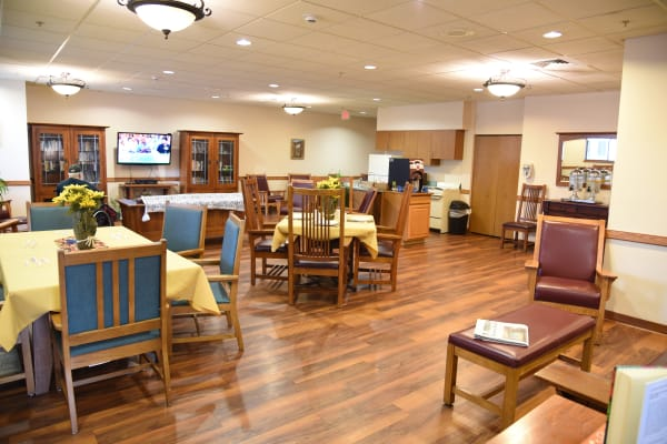 Residents and activities at Belle Reve Senior Living in Milford, Pennsylvania