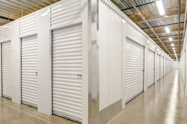 Indoor storage units at Metro Self Storage in Chadds Ford, Pennsylvania