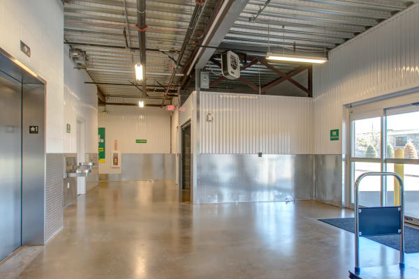 Clean facility with elevator access at Metro Self Storage in Wood-Ridge, New Jersey