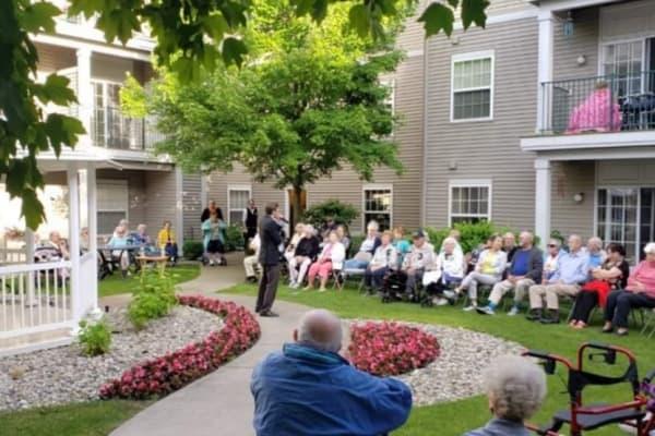 Outdoor Courtyard Concert