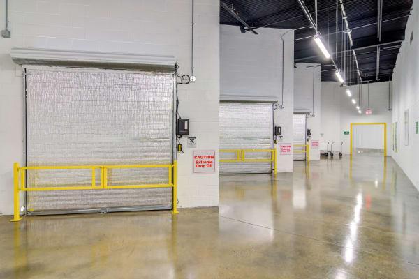 Indoor storage units at Metro Self Storage