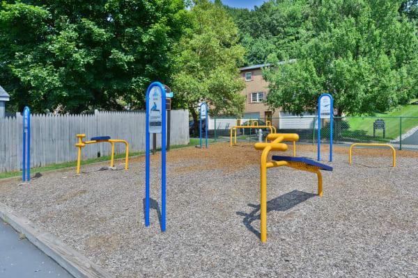 Playground area at Whitestone Village Apartment Homes in Allentown, Pennsylvania