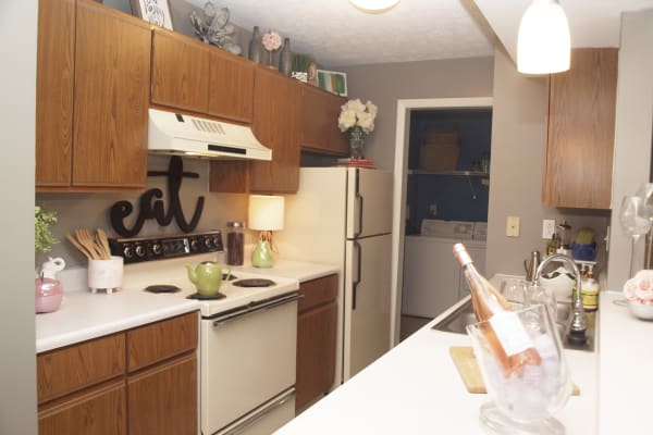 Fox Chase South offers spacious kitchens