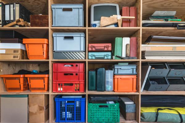 organized storage at Lockaway Storage in San Antonio, Texas