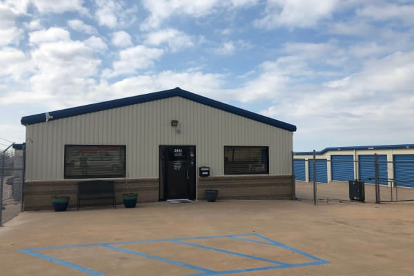 Exterior of Security Storage in Wichita Falls, Texas