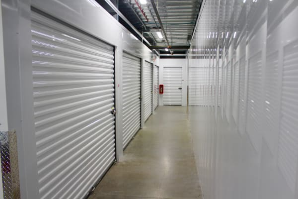 Indoor Climate controlled storage units at Global Self Storage in West Henrietta, New York