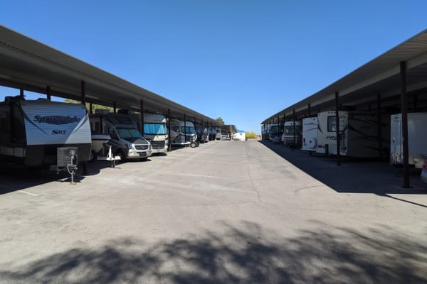 Self storage at Golden State Storage - Horizon Ridge in Henderson, NV with RV and boat storage