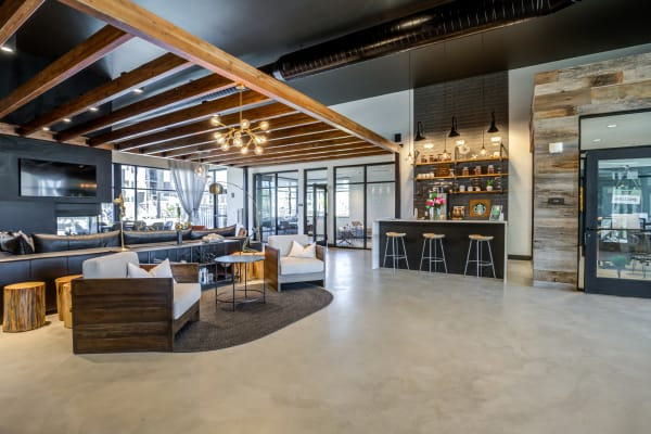 The Wyatt offers a great for entertaining clubhouse in Fort Collins, Colorado