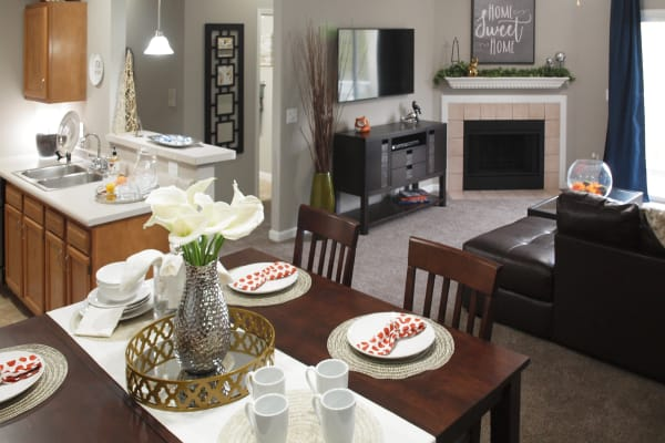 Waterford Place offers open floor plans