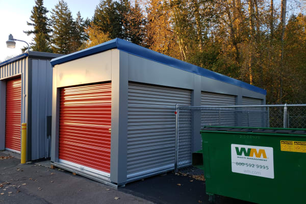 Self storage units available at Trojan Storage in Bothell, Washington