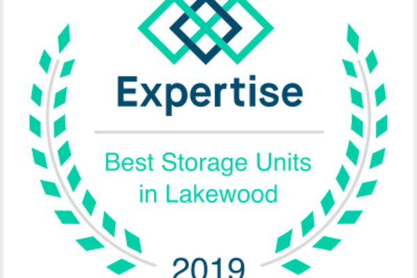 2019 award for best storage units in lakewood