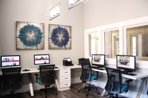 Apartments with a business center in Fort Mill SC at Berkshire Fort Mill