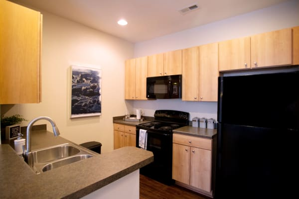 Apartments with a kitchen at Berkshire Fort Mill in Fort Mill SC
