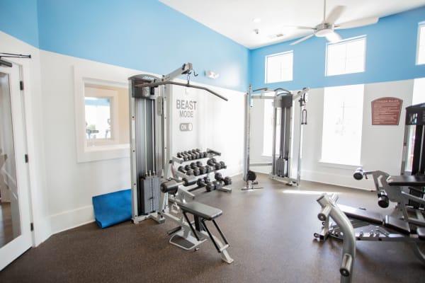 Fitness Center at Berkshire Fort Mill in Fort Mill SC