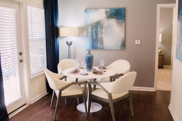 Stylish dining room in Fort Mill SC at Berkshire Fort Mill