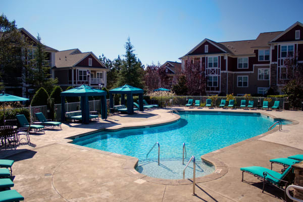Our apartments at Berkshire Fort Mill in Fort Mill SC offer a swimming pool