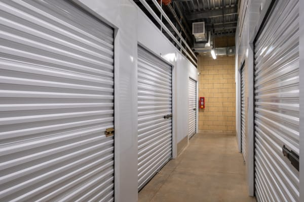 Indoor storage units available at StorQuest Self Storage in Richmond, California