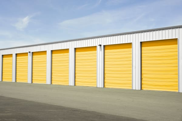 Drive-up storage units available for rent in Southlake, Texas at Storage 365