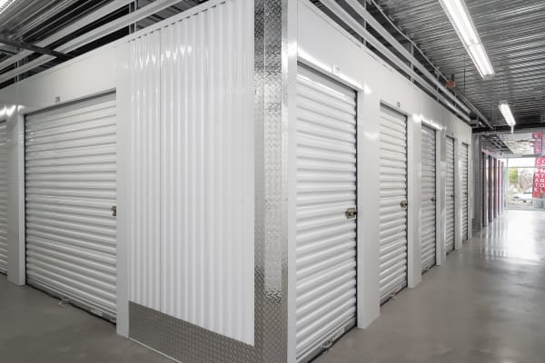 Indoor storage units at StorQuest Express - Self Service Storage in West Sacramento, California