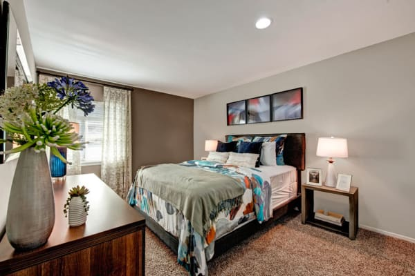 Plenty of space for storage in a model apartment home at Heritage Woods in Bel Air, Maryland