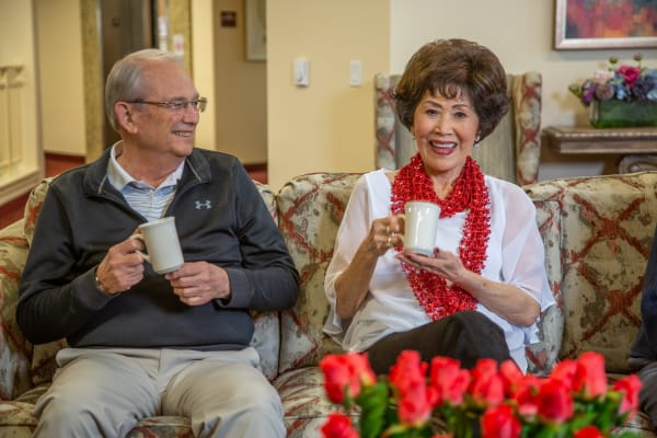 Residents of Capitol Ridge Gracious Retirement Living in Bristow, Virginia