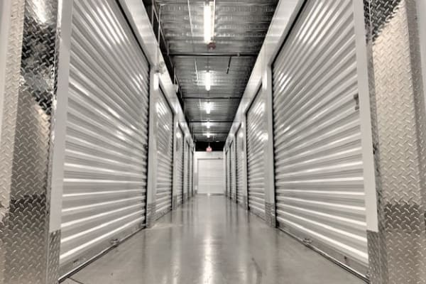 Climate-controlled storage units at My Neighborhood Storage Center in Tampa, Florida