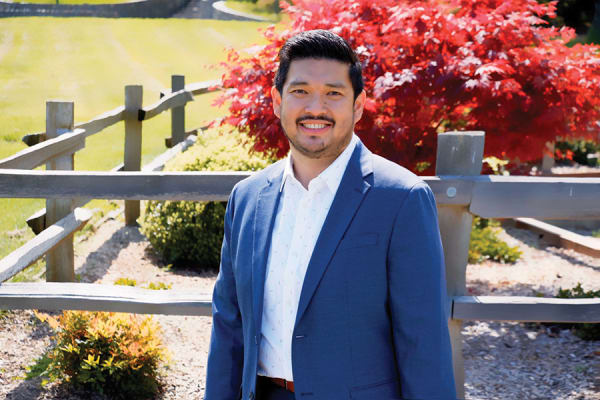 Jose Acumbig of Elegance at Novato in Novato, California.