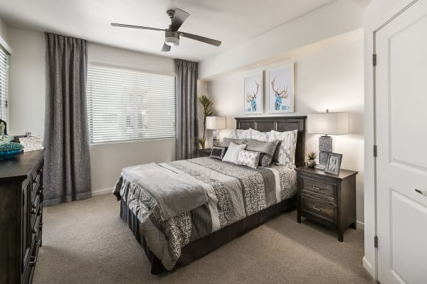 Wonderful master bedroom at Park Place at Fountain Hills in Fountain Hills, Arizona