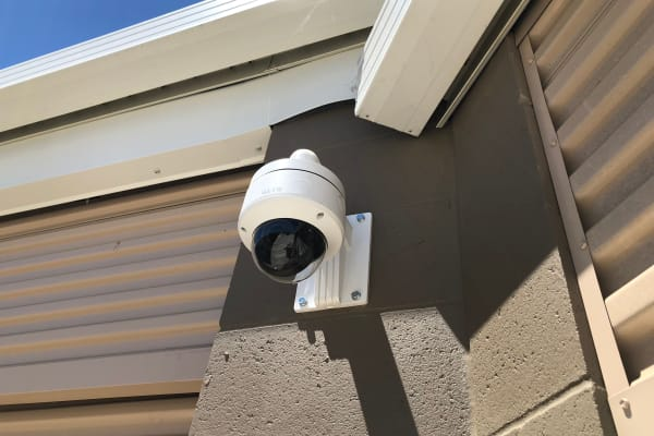 Cypress Self Storage's outdoor camera in Oakley, California.