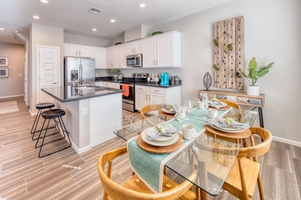Resident enjoying her home at Las Casas at Windrose in Litchfield Park, Arizona