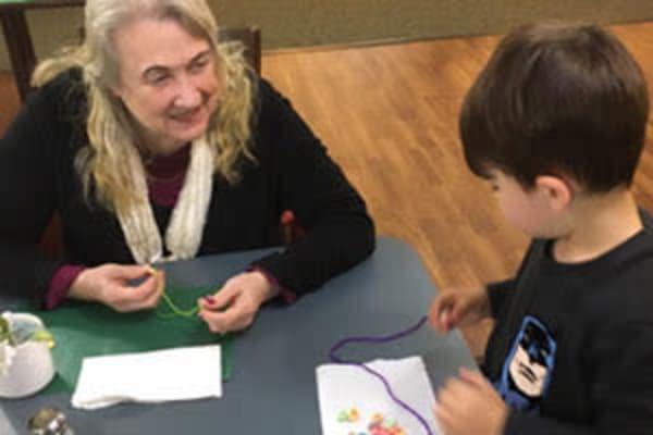Intergenerational Activities at Deephaven Woods in Deephaven, MN