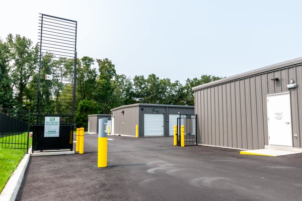 Gated entrance at Metro Self Storage in Monmouth Junction, NJ