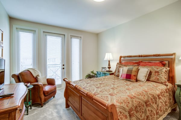 An apartment at The Village of Tanglewood in Houston, Texas