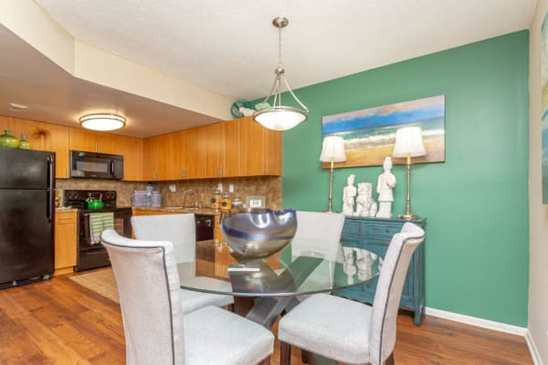 dining area at our wonderful apartment community here in Hialeah, FL