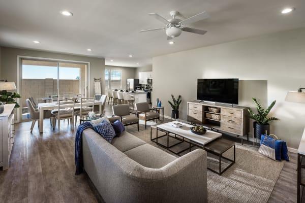 Spacious Living Room at Las Casas at Windrose in Litchfield Park, Arizona
