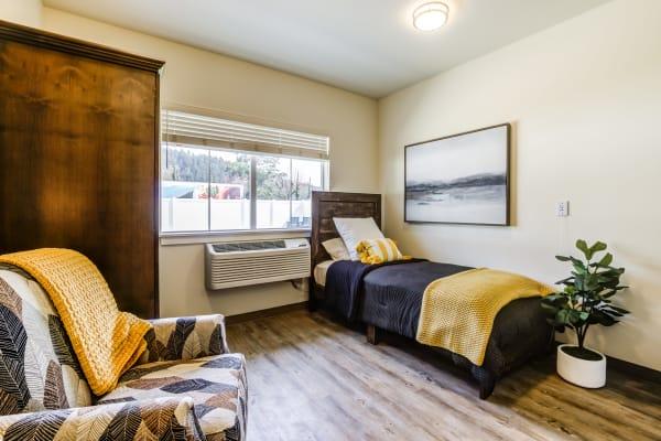 Bedroom of Memory Haven in Sumner, WA